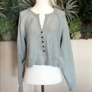 Free People Henley sweater